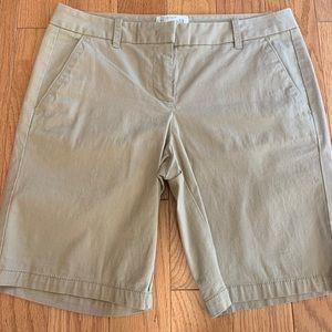 J. Crew Khaki Bermuda Short